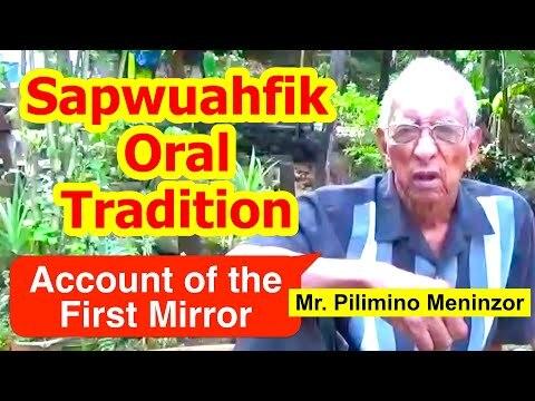 Account of the First Mirror, Sapwuahfik Atoll