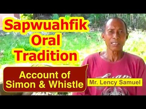 Account of Simon and Whistle, Sapwuahfik Atoll