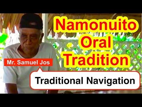 Account on the Traditional Navigation, Namonuito