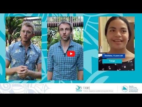 Teen Tuna Tok: SPC's Fisheries Scientists replies to Kalolaine from Tonga on World Tuna Day