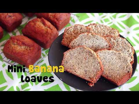 How to make Mini Banana Loaf