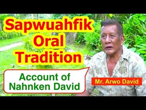 Account of Nahnken David, Sapwuahfik Atoll