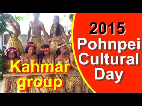 Kahmar group, Pohnpei/FSM Cultural Day 2015