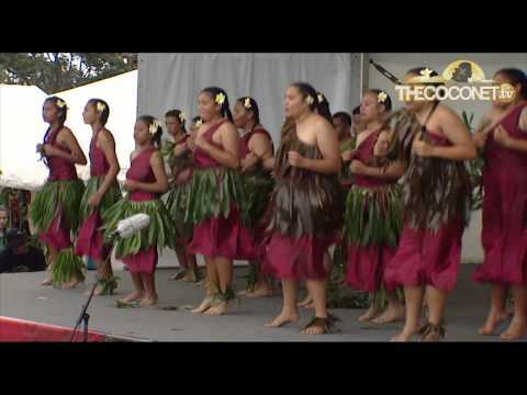 Polyfest Niue Stage - Aorere College