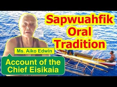 Account of the Chief Eisikaia, Sapwuahfik Atoll
