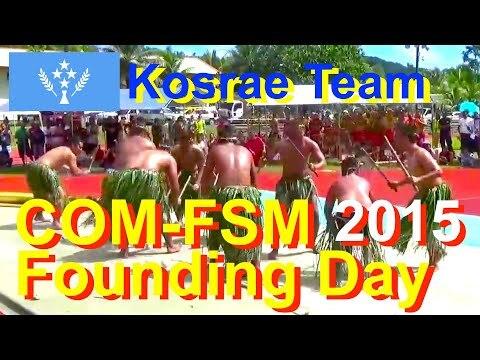 Kosrae Team, College of Micronesia-FSM Founding Day 2015