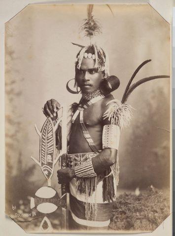 Unknown Solomon Island Man