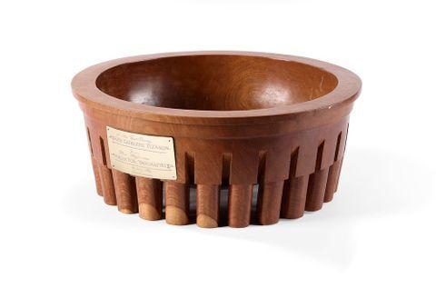 Tanoa fai`ava (kava bowl)
