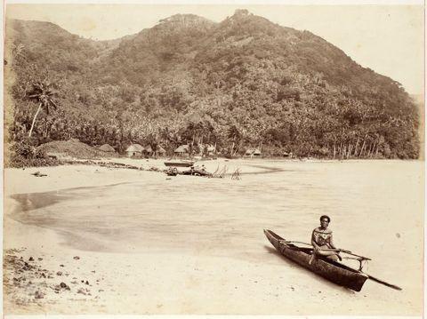 Pango Pango (sic) Harbour - Samoa