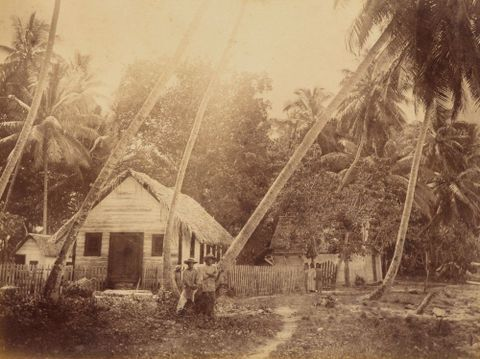 Ebon Trading Station. From the album: Views in the Pacific Islands