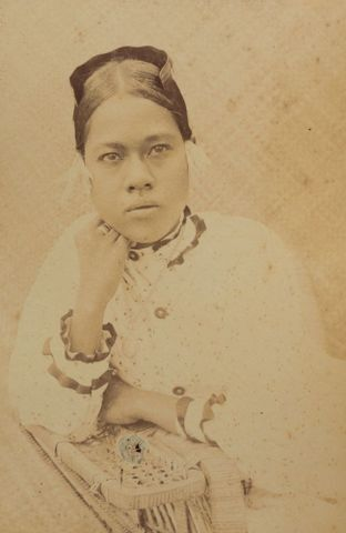 Majuro woman. From the album: Views in the Pacific Islands