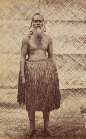 Remi Majuro Chief. From the album: Views in the Pacific Islands