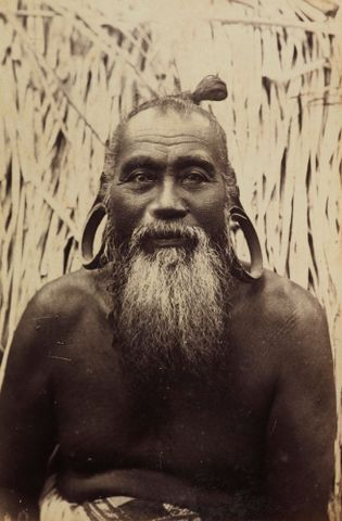 Jibberik King of Majuro. From the album: Views in the Pacific Islands