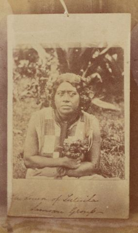 The Queen of Tutuila, Samoan group