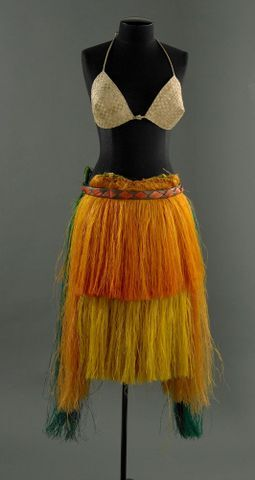 Belau female dance costume