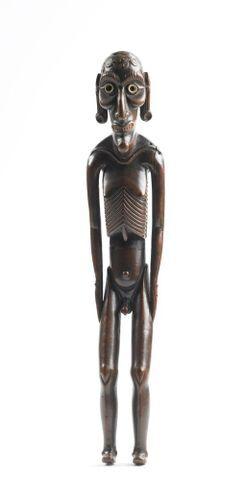 Moai kavakava (human figure)
