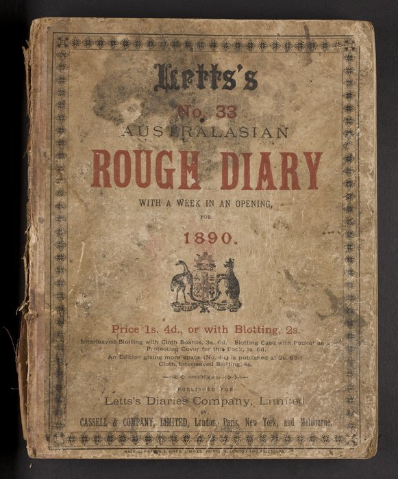 Private diary of Capt Johnson, Commander of the labour brigantine Meg Merrilies from Suva, Fiji to New Hebrides, Solomon Islands and back