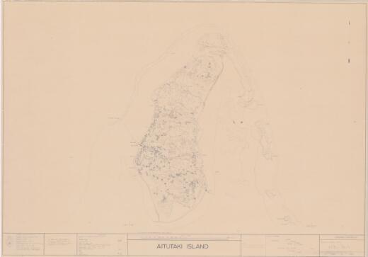 Aitutaki Island (Sheet 1)
