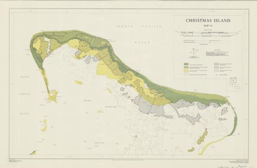 Christmas Island: [Areas of coconut growing potential] (Map 6a)