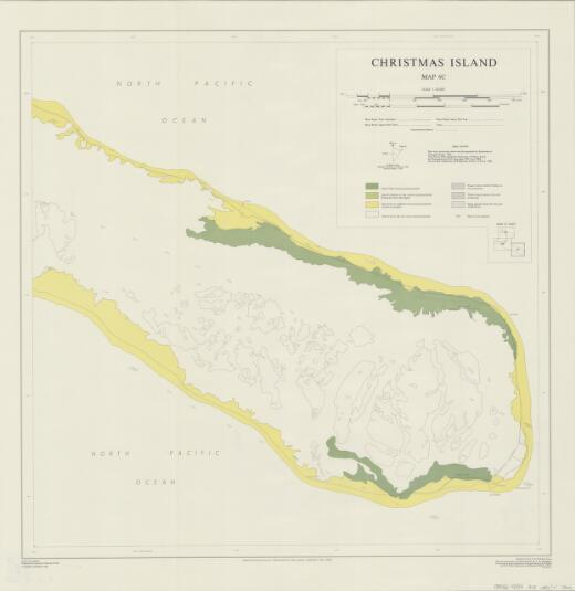Christmas Island: [Areas of coconut growing potential] (Map 6c)