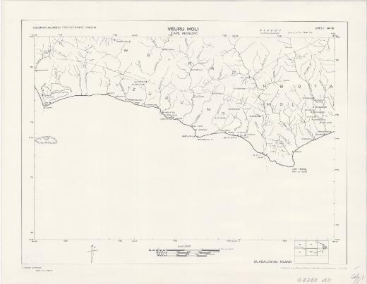 Solomon Islands 1:50,000: Veuru Moli (Cape Henslow) (Sheet 18)