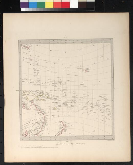 [South west Pacific] engraved by J. & C. Walker
