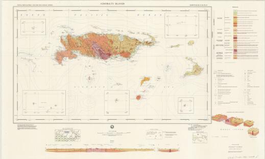 Admiralty Islands: Admiralty Islands (Sheet SA 55-10, 11)