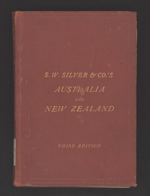S.W. Silver & Co.'s handbook for Australia & New Zealand : (including also the Fiji Islands) : with new map of the colonies.