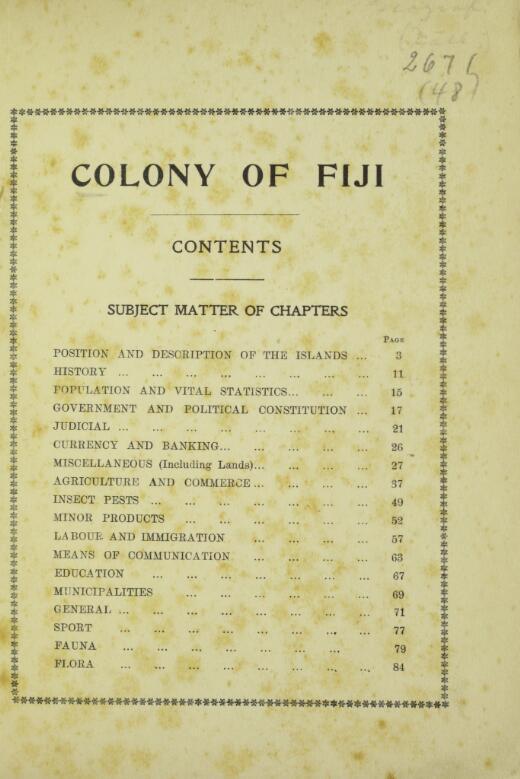 Colony of Fiji