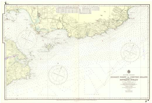 [New Zealand hydrographic charts]: New Zealand - South Island. Nugget Point to Centre Island including Foveaux Strait. (Sheet 68)