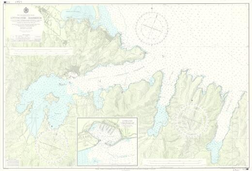 [New Zealand hydrographic charts]: New Zealand. South Island. Lyttelton Harbour. (Sheet 6321)