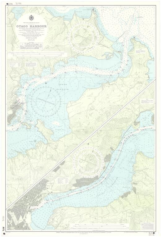 [New Zealand hydrographic charts]: New Zealand - South Island. Otago Harbour. (Sheet 6612)