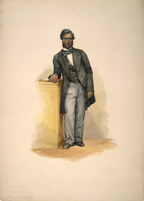 [Angas, George French] 1822-1886 :Tamihana Te Rauparaha [1852]