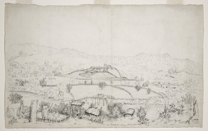 Turner, Nathaniel 1793-1864 :[Wesleydale Mission Station, Kaeo, Whangaroa, Northland. 1825 or 1826?]