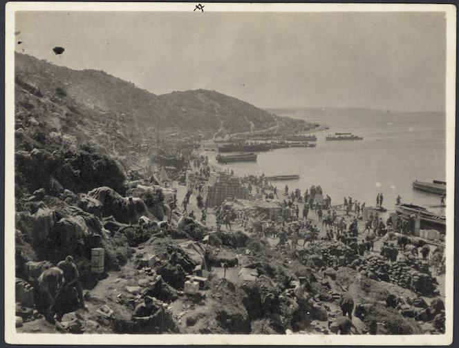 The beach at Kapa Tepe, Gallipoli Peninsula, Turkey