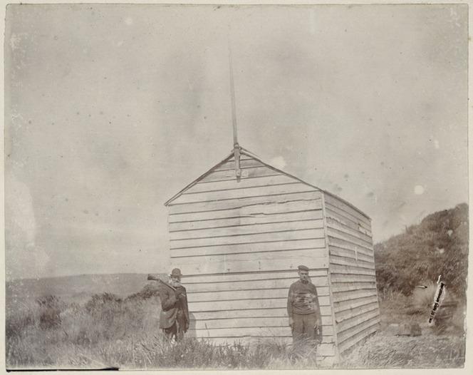 Depot hut, Auckland Island, New Zealand