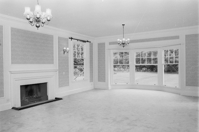 Drawing room of Vogel House, Lower Hutt