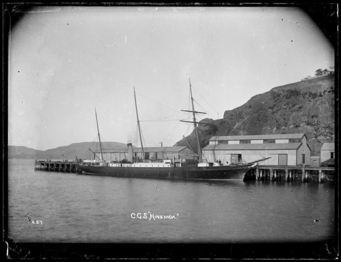 CGS Hinemoa at Port Chalmers