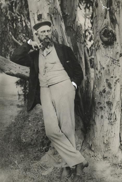 James Edward Fitzgerald - Photograph taken by Dr Alfred Charles Barker