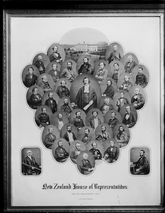 Members of the House of Representatives in 1860 - Photographs taken by John Nicol Crombie