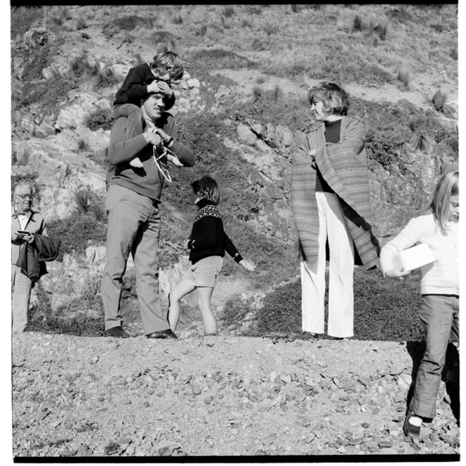 Makara Beach, 1973 or 1974?