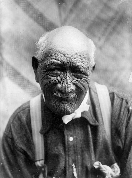 Portrait of Wiremu Patara Te Tuhi