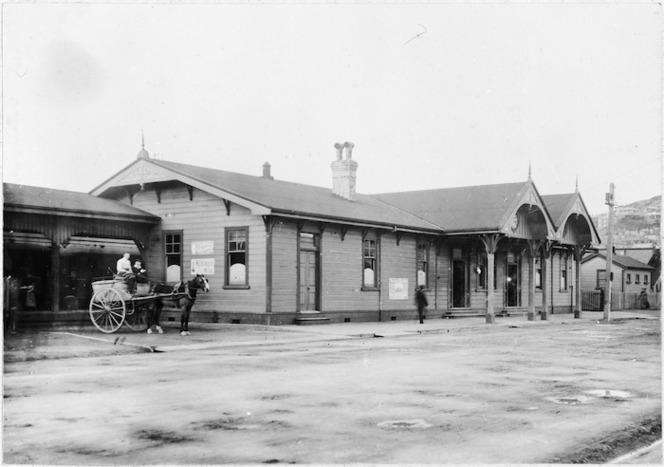 Te Aro Railway Station, Wellington
