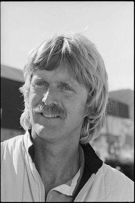Peter Blake, skipper of Lion New Zealand