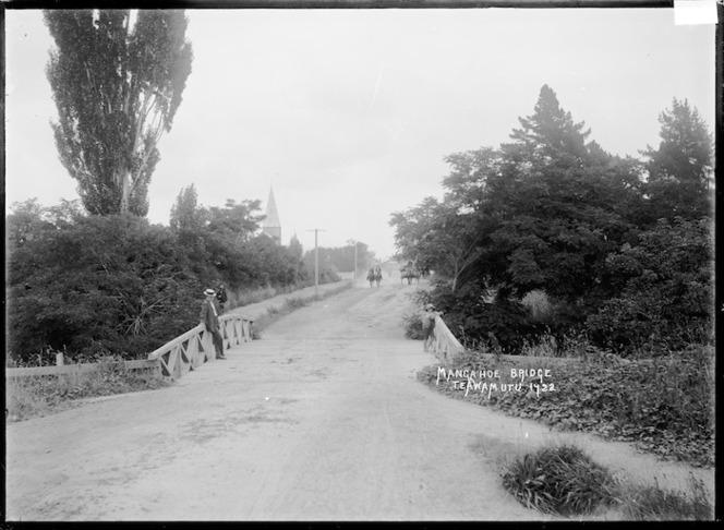 Mangahoe Bridge, Te Awamutu