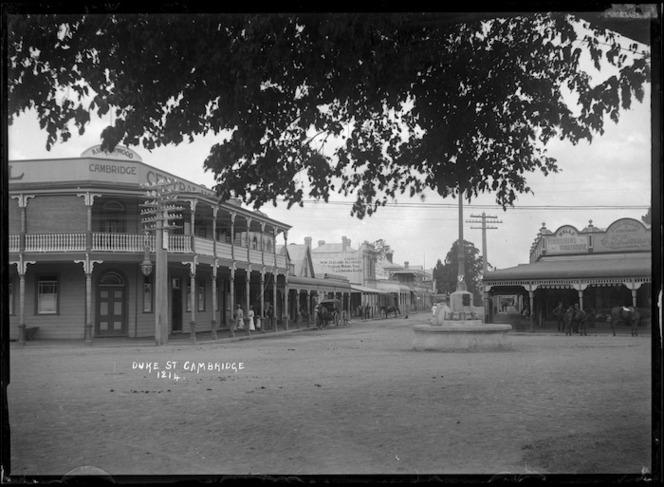 Duke Street, Cambridge, circa 1920s
