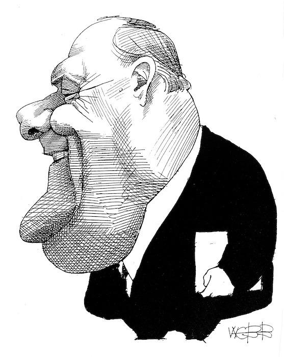 Webb, Murray, 1947- :[Sir Robert Muldoon. 1990-1991].