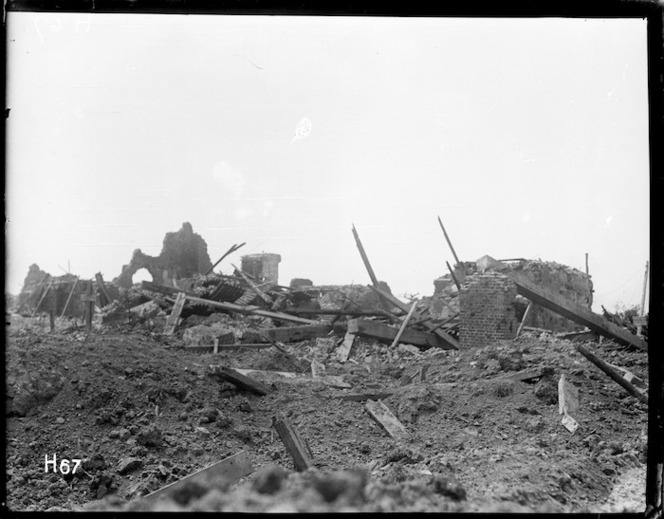 Ruins of Messines, Belgium