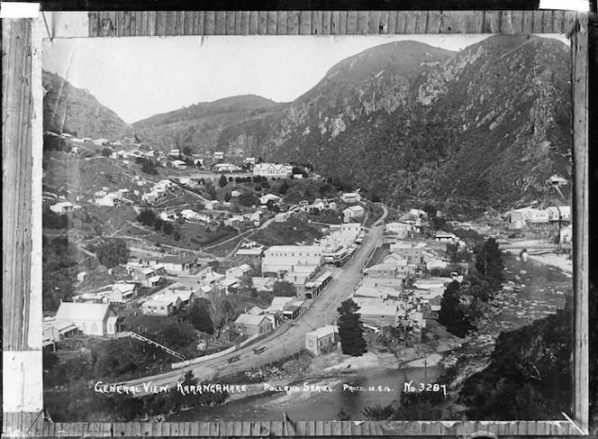 Overlooking Karangahake township