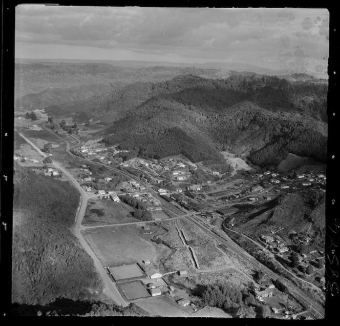 Aerial view of Mangapehi